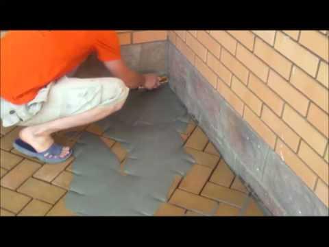 Укладка клинкерной плитки своими руками видео