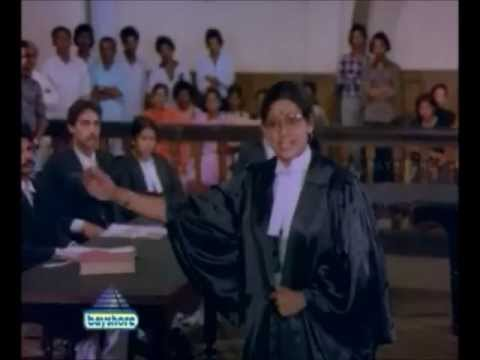 Vidhi Tamil Movie - Super Scene - Court Scene Sujatha  Vs Jai Shankar video