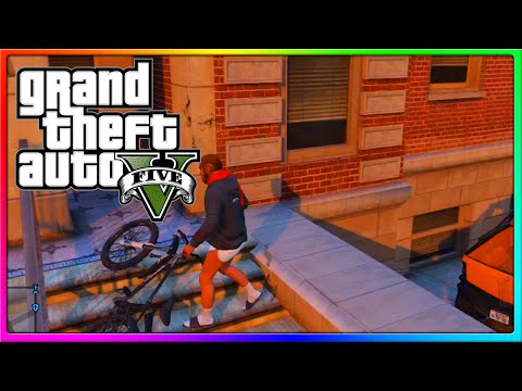 GTA 5 Online - SideArms is a DIRTY BOY, Bike Tricks, and other Funny Moments! (GTA Online)