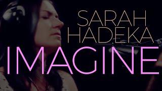 "Sarah Hadeka ""Imagine"" In Studio Performance"