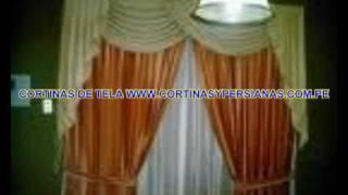 CORTINAS Y CENEFAS www.cortinasypersianas.com.pe Lima Peru 01:10