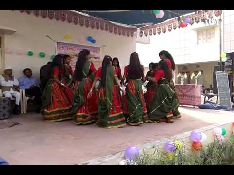 Garbo, Dudhe Te Bhari Talavdi, Karjisan Primary School Student Dance, 26 January 2015 video