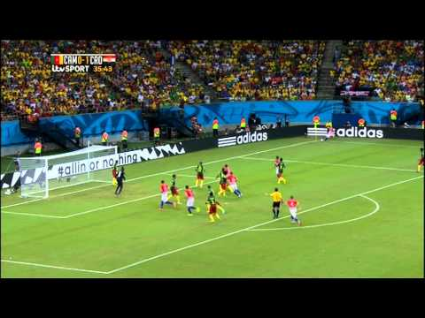Cameroon Croatia 2014 World Cup Full Game ITV