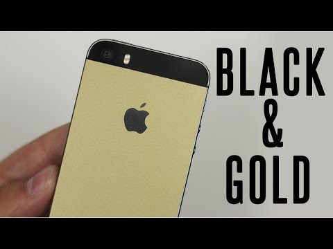 iPhone 5S Black/Gold Conversion Kit