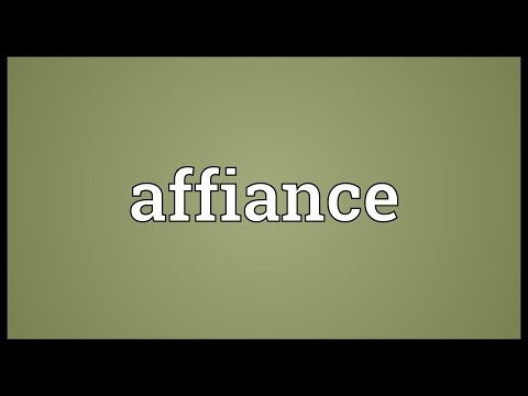 Header of affiance