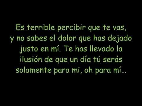 Tu Sin Mi con Letra - Dread mar i .mp4