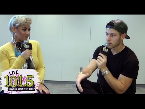 Nick Jonas Talks New Music, TV Show and Dating Girlfriend Olivia Culpo with LIVE 101.5