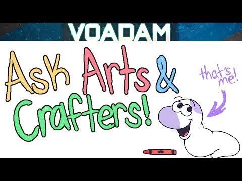 Ask Arts And Crafts Part 1! Baldi's Basics Comic Dub!