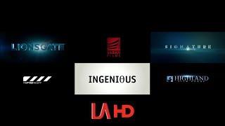 Lionsgate/Saban Films/Signature/The Fyzz Facility/Ingenious/Highland Film Group