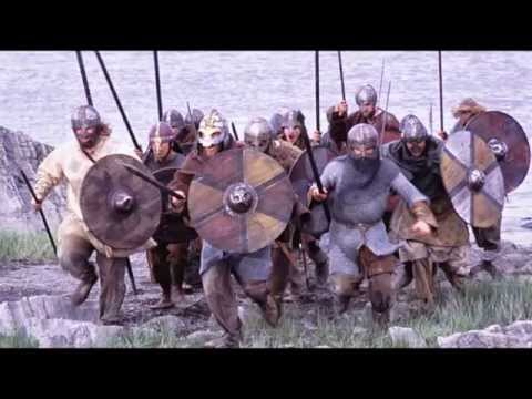 Vikings  attacking England