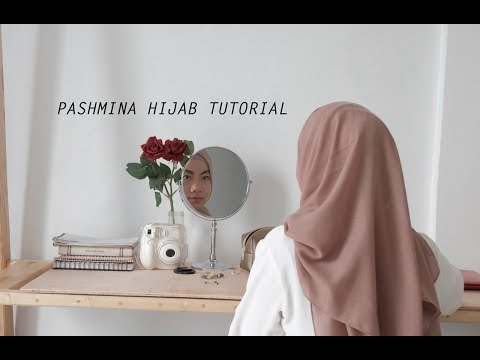 4 Tutorial Gaya Hijab Pashmina Berbahan Voal - YouTube