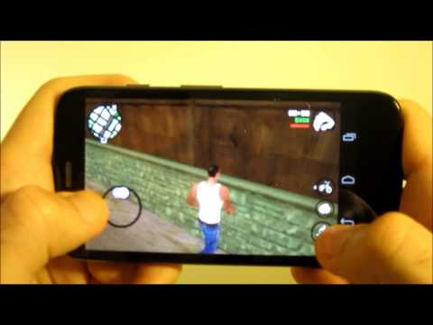 Motorola Moto G: GTA San Andreas para Android a prueba. Gaming test  [HD]