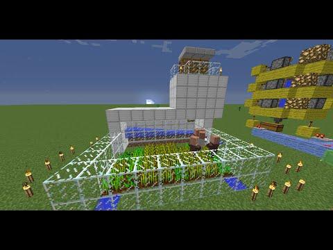 Как сделать ферму жителей в майнкрафт 164