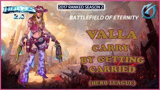 Grubby | Heroes of the Storm 2.0 - Valla - Carry by Getting Carried? HL 2017 S2 - BoE