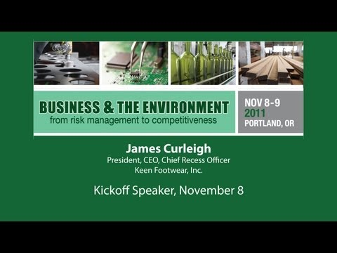 NEBC Business & Environment Conference: Speaker James Curleigh-Keen, Inc.