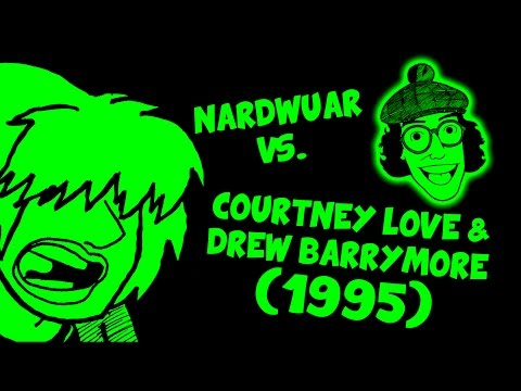 Nardwuar vs. Courtney Love & Drew Barrymore (1995)