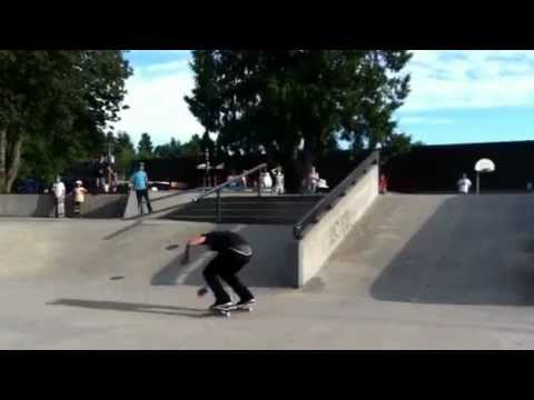 "Micky Papa - Kickflip Fs Krook ""Big Red"" Abbotsford"