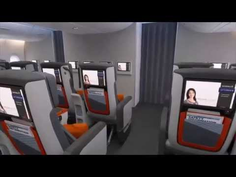 Singapore Airlines Premium Economy Class - The Unveil Event