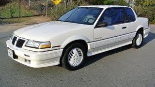 Pontiac Grand Am SE Coupe Quad 4 Cyl 1 Owner 48k Orig Miles MPG gas Saver For Sale