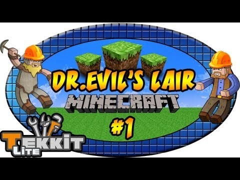 Minecraft: Tekkit | Dr.Evil's Lair, Ep.1 Dumb and Dumber