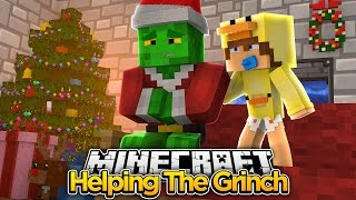 Minecraft Movie - THE GRINCH STOLE CHRISTMAS (Part 2) - Baby Duck Adventures