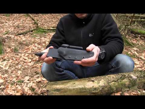 REVIEW & FIELDTEST - Mora Bushcraft BLACK