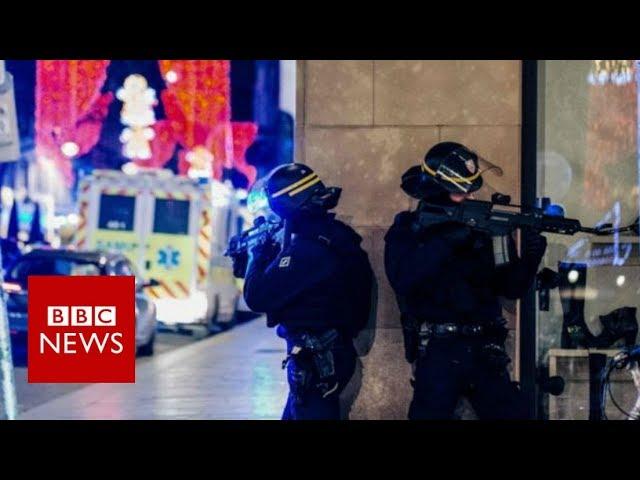 Hundreds hunting Strasbourg gunman - police - BBC News