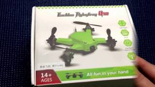 UnBoxing - Eachine Flying Frog Q90 Mini FPV Quadcopter