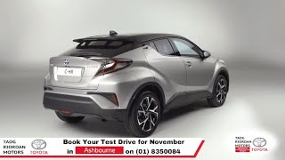 New Toyota C-HR Test Drive Meath | Tadg Riordan Motors Ashbourne (01) 8350084
