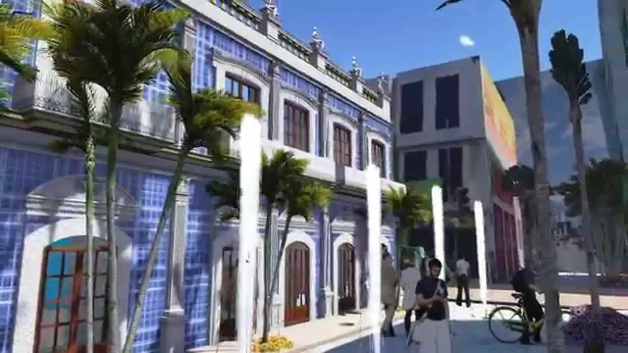 Casa de los azulejos villahermosa youtube for Casa de azulejos