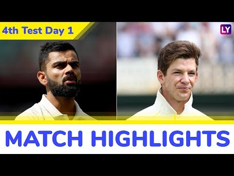 IND vs AUS 4th Test 2018 Day 1 Highlights: Cheteshwar Pujara Century Takes India to 303/4 at Stumps
