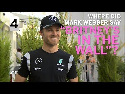 Grill The Grid - Nico Rosberg