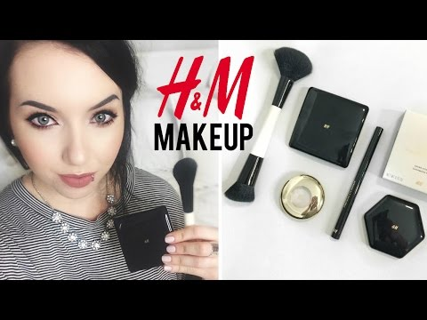 H&M Makeup FIRST IMPRESSION Reviews + Tutorial!