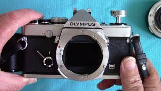 Olympus OM -1 : Classic SLR Film camera from 1970's