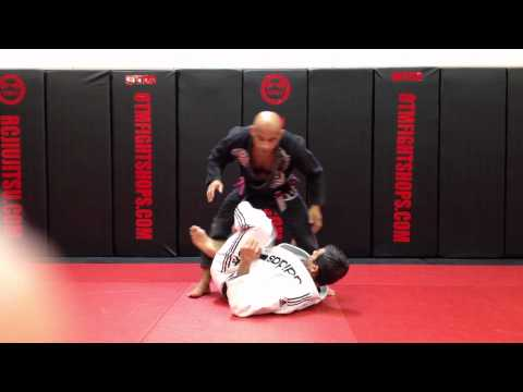 Jiu Jitsu Techniques - Escape From X Guard Image 1