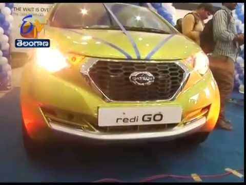 Datsun Redi-GO Car Launched in Vijayawada
