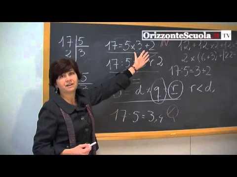 Matematica alle elementari, insegnare partendo dall'esperienza: la diivisione