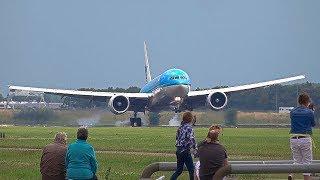 Takeoff & landings [people love watching Airplanes] B747, B777, A330, B757, B787.