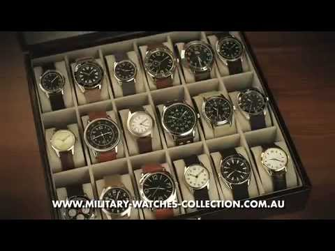 EAGLEMOSS MILITARY WATCHES COLLECTION AUSTRALIA - YouTube