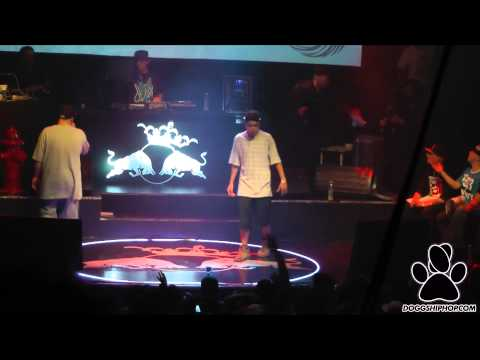 Cober vs Coqee - Octavos Batalla de los Gallos Red Bull 2014Se