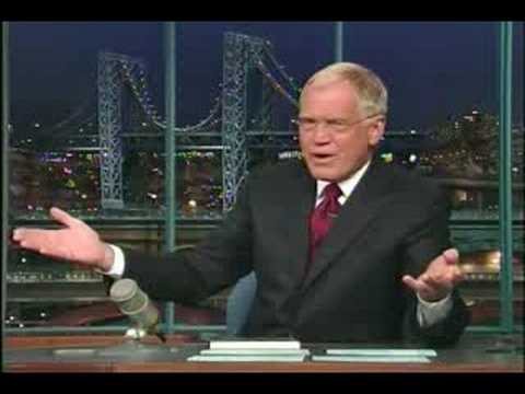 Letterman mocks McCain for several minutes during show