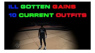 """""""GTA 5 Online"""" My 10 Current outfits Ill Goten Gains"""