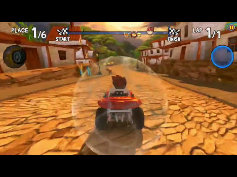 Beach Buggy Racing gameplay for ios & android