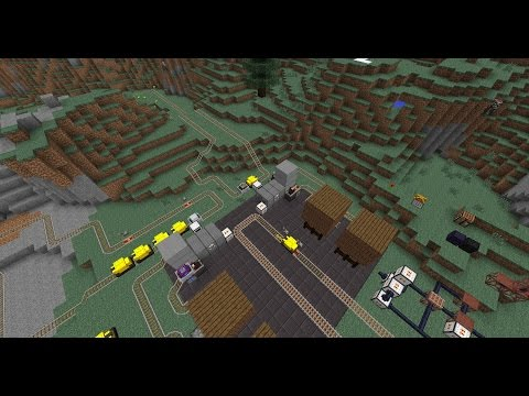 Railcraft - 9.3.1.0 - Electric Locomotives!