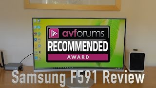 Samsung C27F591FDU Monitor Review
