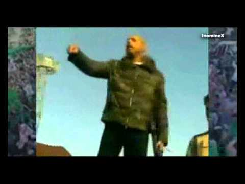 Libya: Saif al-Islam and Muammar Gaddafi, rare footage