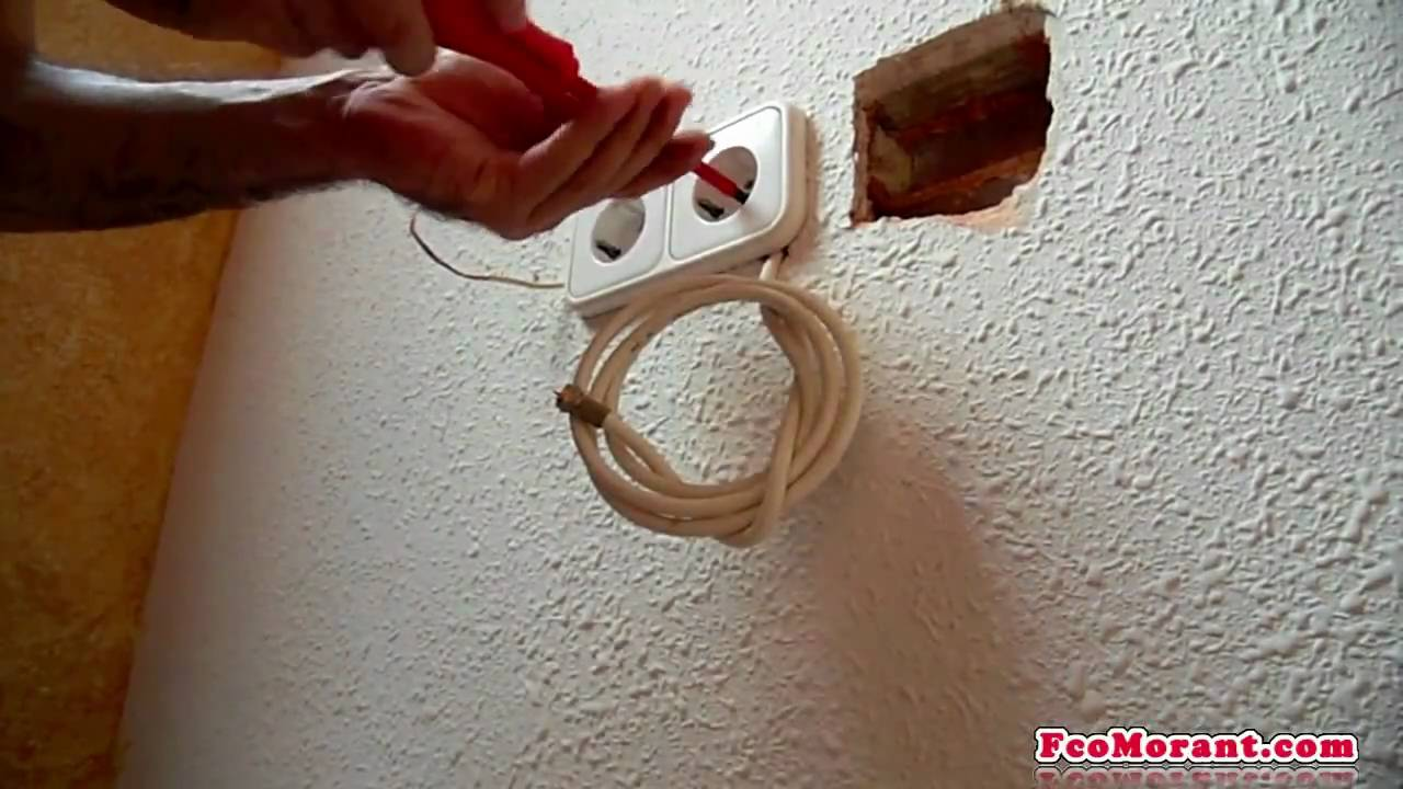 Empotrar cable de antena part1 youtube - Cable de antena ...