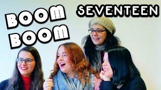 MV SEVENTEEN BOOMBOOM Reaction