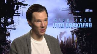 Benedict Cumberbatch talks about pranks on set.