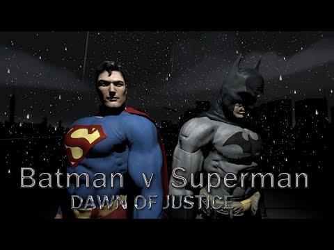 Batman Vs Superman: Dawn of Justice - Full Movie [SFM Animation]